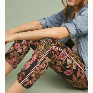 Anthropologie Chino Pants Relaxed Floral Print